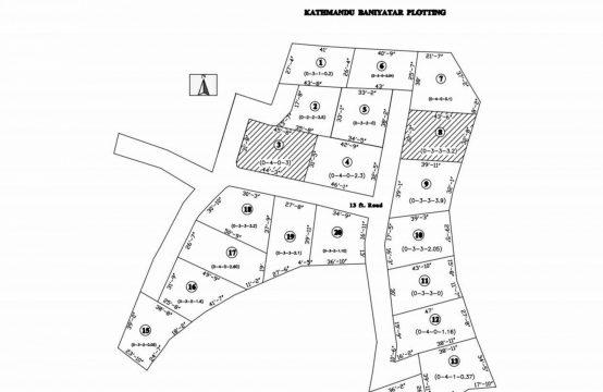 Platting land for Sale: बनियाटारमा २.५ देखि ६ आनाका १९ प्लट्स जग्गाहरु बिक्रीमा