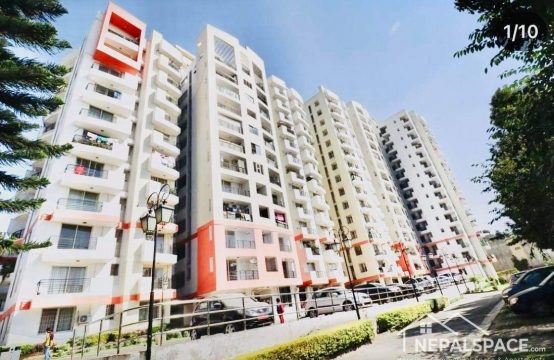 2BHK semi furnished apartment for Sale at Sunrise Apartment