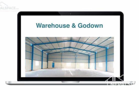 Warehouse/ Godawan/ Store/ Trust Space for Rent: टेकुको २० फीटे बाटोमा आकर्षक ३२०० स्क्वार फिट गोदाम स्पेश भाडामा