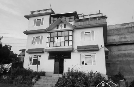 3 Story House Including 22 Aana Land Area Is On Rent