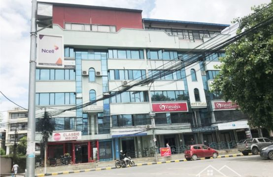 Semi-furnished Commercial office space for Rent