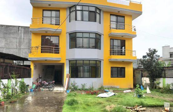 Flat for Rent at Radhakrishna Chowk : आकर्षक ११०० स्क्वार फिटको ३ बेडरुम पहिलो तल्ला फ्ल्याट भाडामा