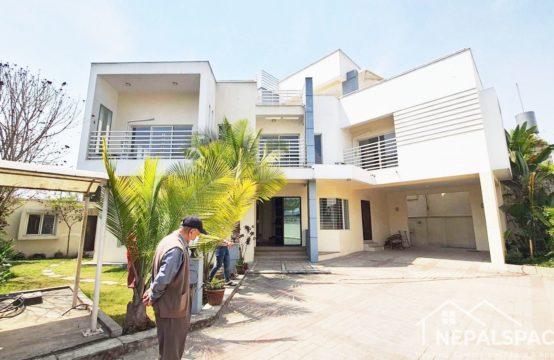 Modern Semi Furnished House for Rent at Maharajgunj, Kathmandu